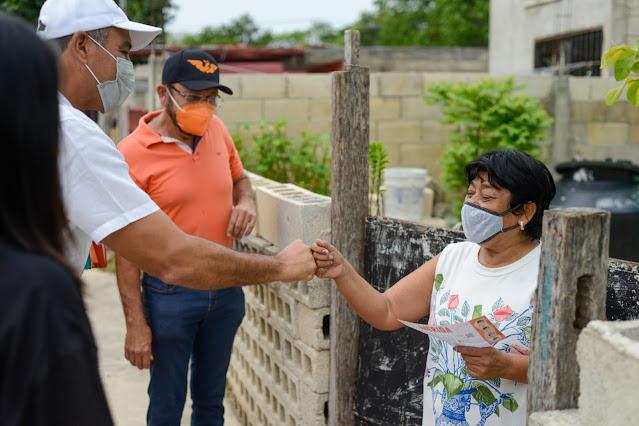 Mantenimiento a las calles y empleos irán de la mano: Víctor Cervera