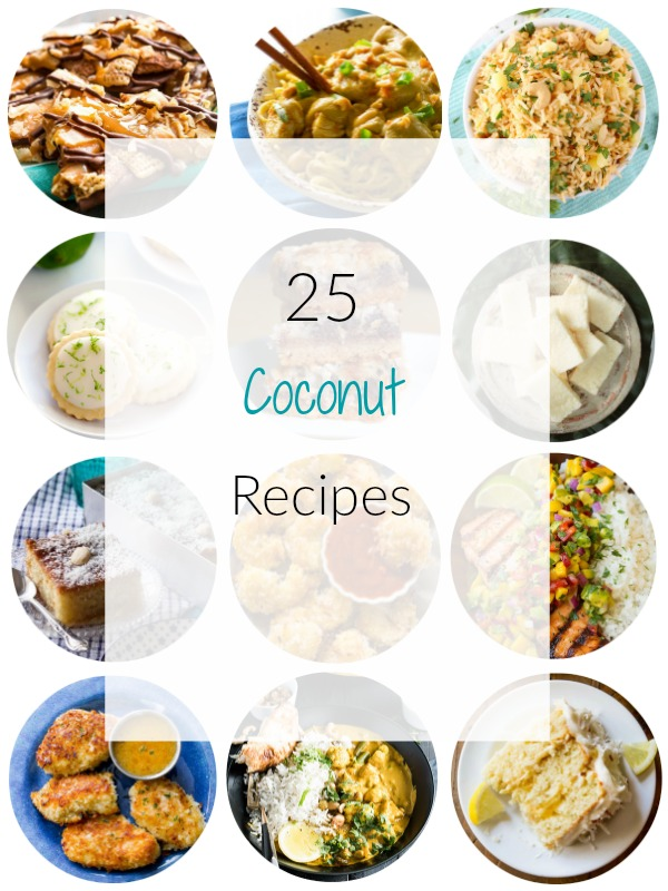 Coconut Recipes Round Up - Ioanna's Notebook