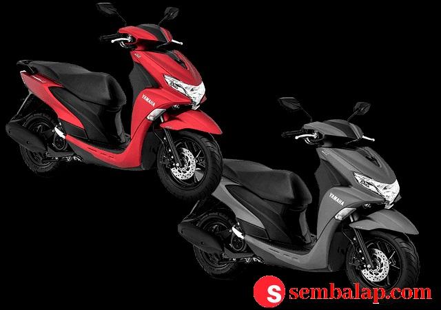 Dua pilihan warna Yamaha FreeGo S