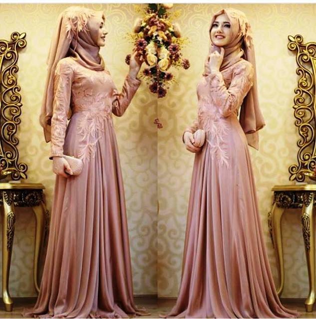 Inspirasi Gaun Muslimah Cantik dan Trendy 2001603