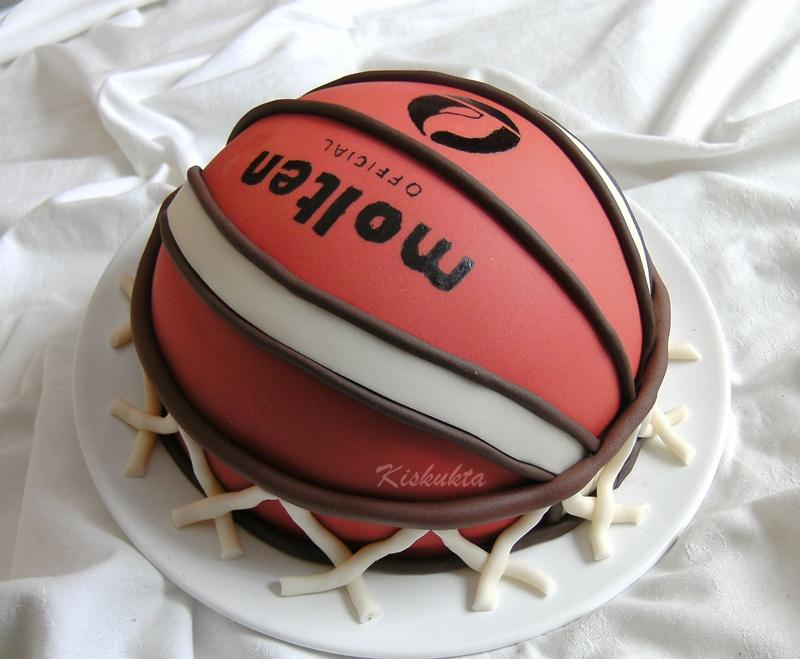 kosárlabda torta képek Kiskukta torta: Kosárlabda torta kosárlabda torta képek