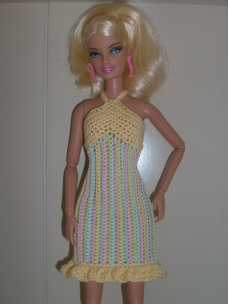 Knit Barbie Clothes Patterns