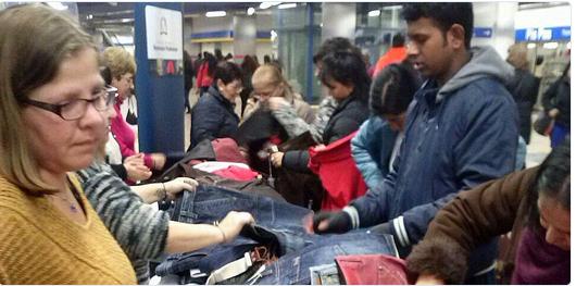 Mercadillos de Navidad en el Metro de Madrid. Embajadores, Chamartín y Legazpi.