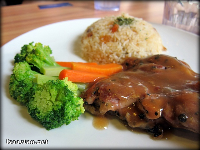 Grilled Chicken Rice - RM16.90