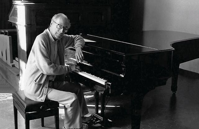 Pierre Villette at the Conservatoire d'Aix, 1988 (Estate of Pierre Villette)
