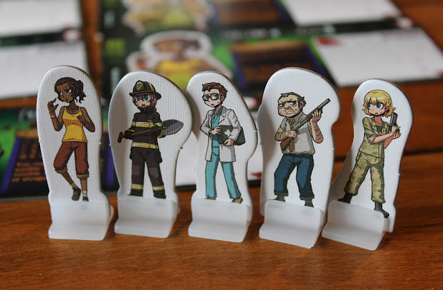 Zombie Tower 3D - character standees