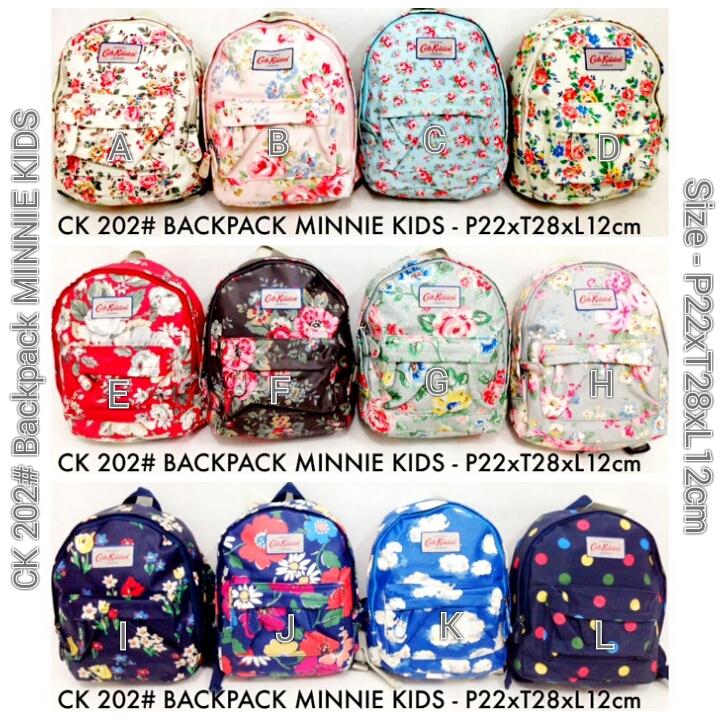 Kipling Shop Indonesia Cath Kidston 202 Backpack Minnie Kids Rp