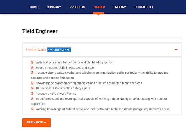 Civil Engineering Job Form APEX Foams India - Pitampura, Delhi