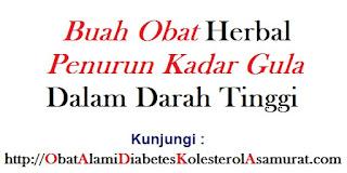 Buah Obat Herbal Penurun Kadar Gula dalam Darah Tinggi