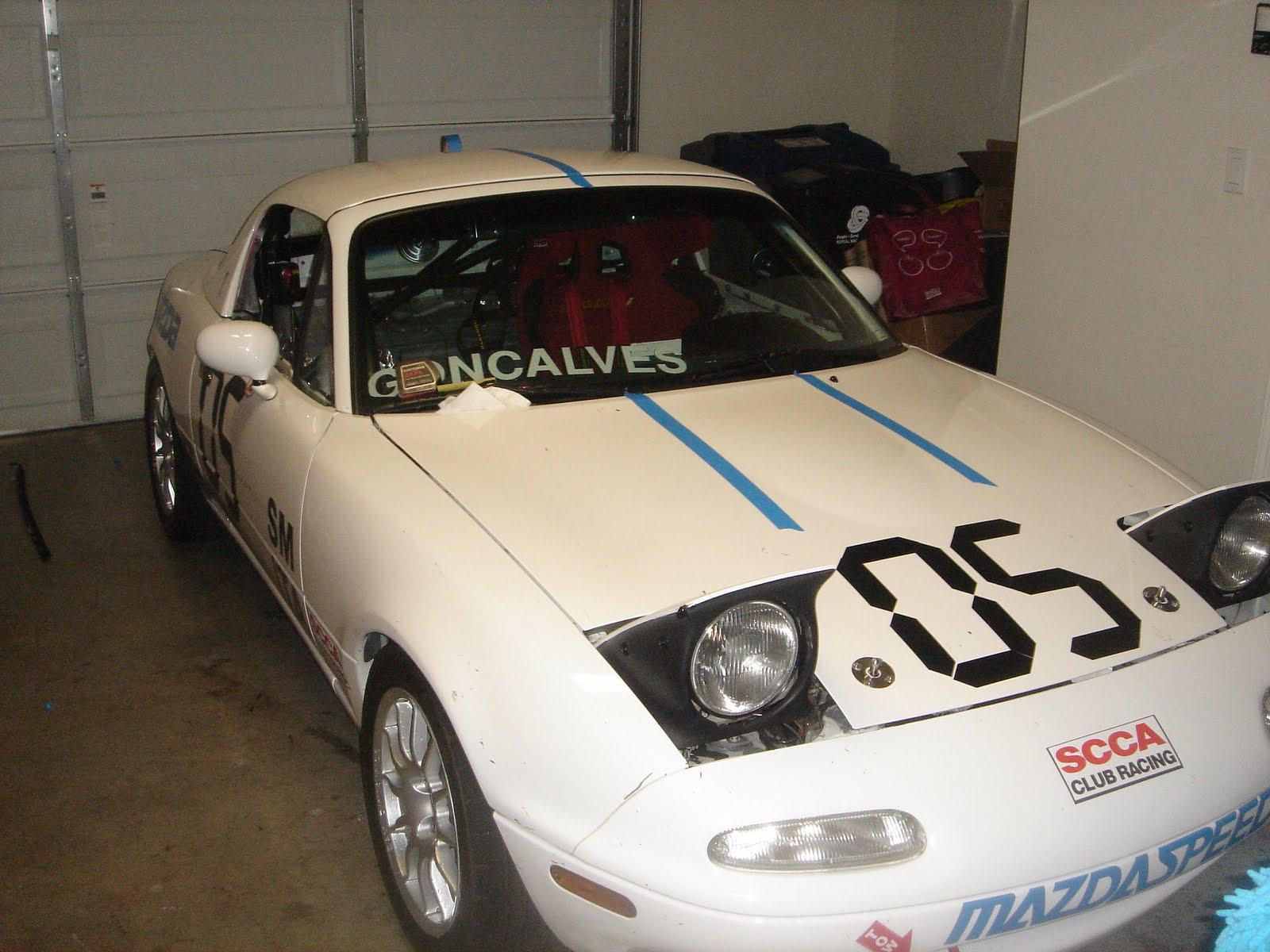 A newbie's adventures in racing: Stripes, graphics, vinyl