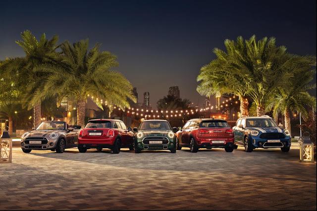 احتفلوا بعيد الفطر مع هدية مميزة من شركة الجنيبي العالمية للسيارات وعروضها الحصرية على طرازات MINI