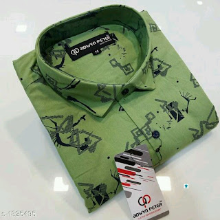 Classy Trendy Men's Casual Cotton Shirts