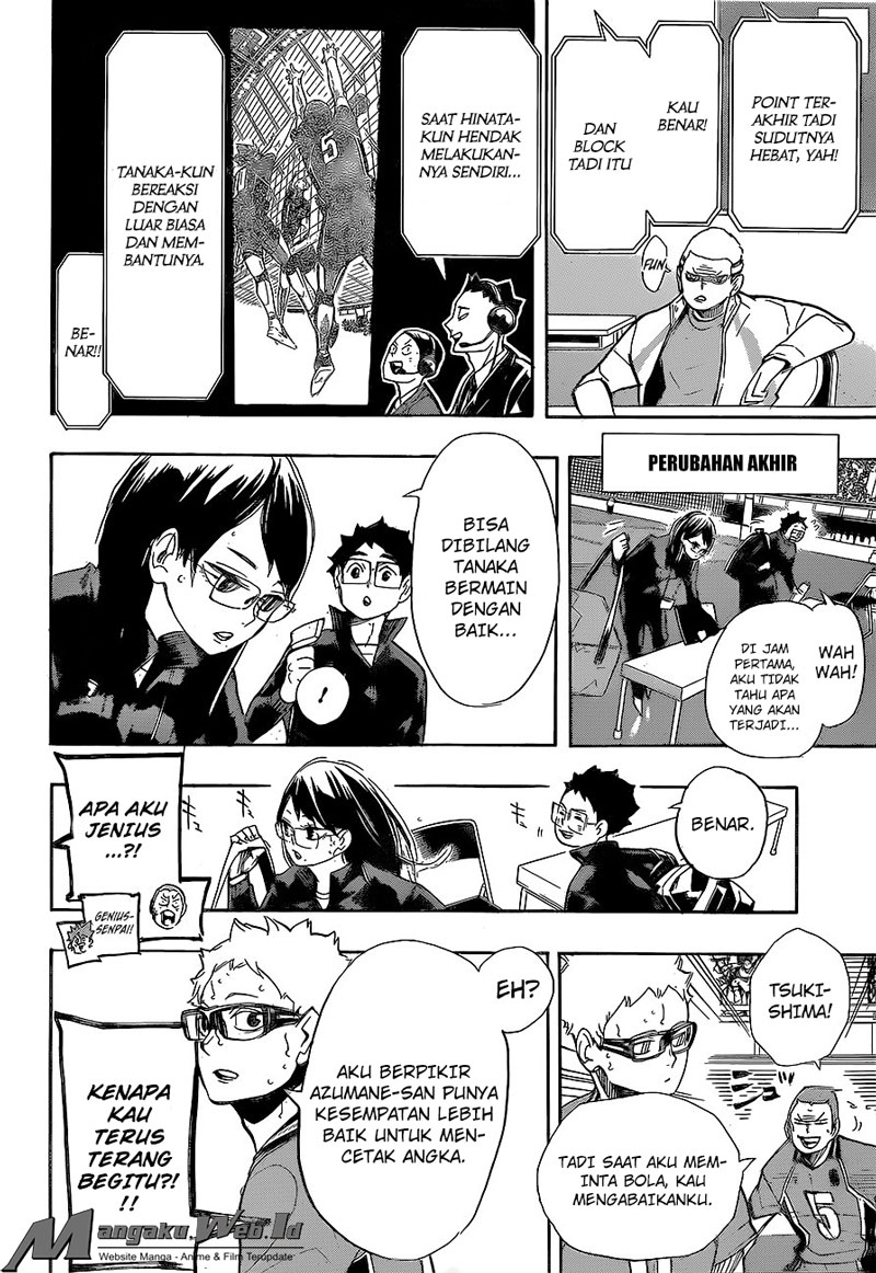 Haikyuu!! – Chapter 264 : Patah Hati
