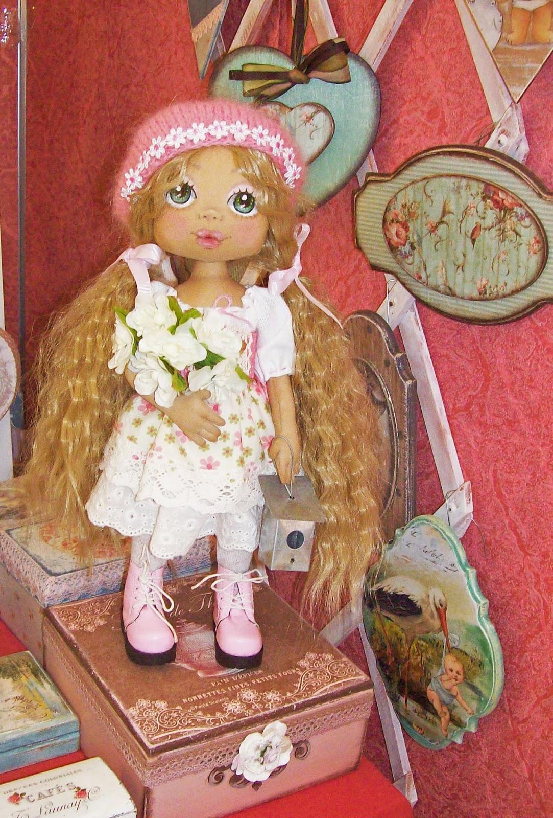 """выставка """"формула рукоделия"""" - текстильная кукла"""