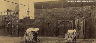 كنيسة القديس بربارة بمصر القديمة والتقطت بين عامى 1860 الى 1890