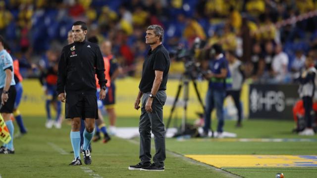 Juande Ramos se fue de vacío del Gran Canaria