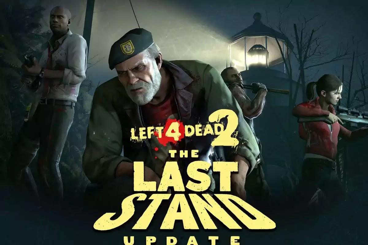 Left 4 dead 2 best pc games under 10gb