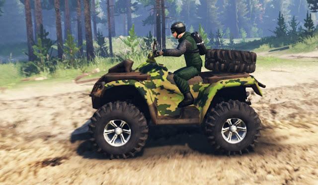Mod ATV 4x4 Spintires 03.03.16