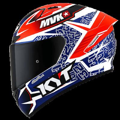 KYT NX Race - daftar helm 1 sampai 2 jutaan disain keren cocok buat harian