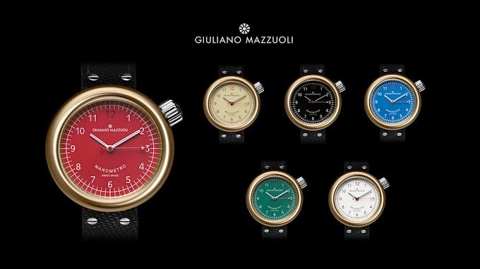 ジュリアーノ・マッツォーリ – マノメトロの薄型バージョンを発表。