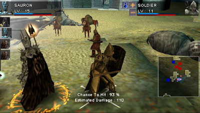 Game The Lord of The Rings Tactics PPSSPP ISO Ukuran Kecil Free Download Full Version