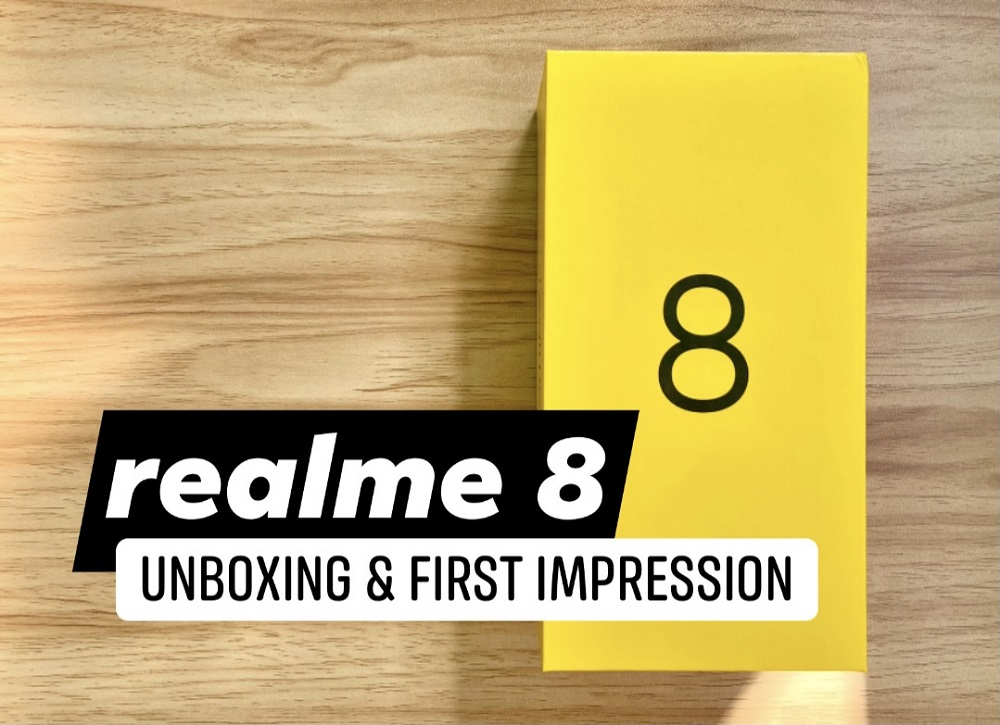 realme 8 Unboxing and First Impression