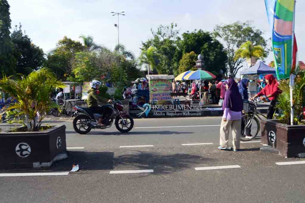 Ada Peringatan Hari Santri, Car Free Day Alun-alun Kebumen Libur