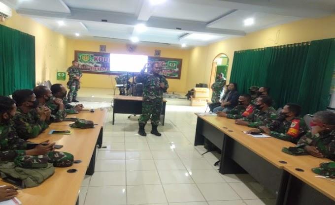Kodim 0602/Serang Dukung Rencana Progam Sikowil Kodam III/Siliwangi