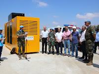 Satgas Indobatt XXIII-M/UNIFIL Memberikan Bantuan Genset Bagi Warga Al Adaise Lebanon Selatan