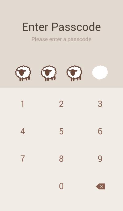 A Mum Fluffy Sheep