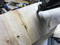 Attaching cedar shingles