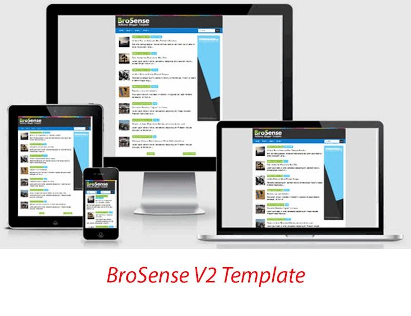 BroSense V2 Template Premium - Responsive Blogger Template