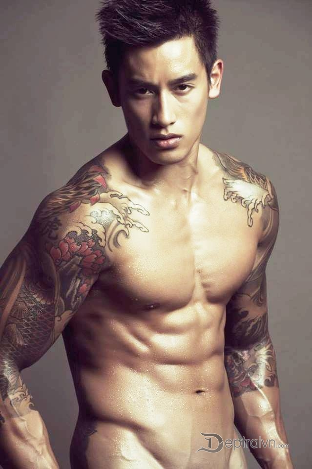 Sexy thai male model