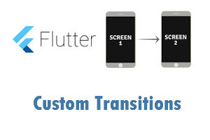custom screen transition flutter