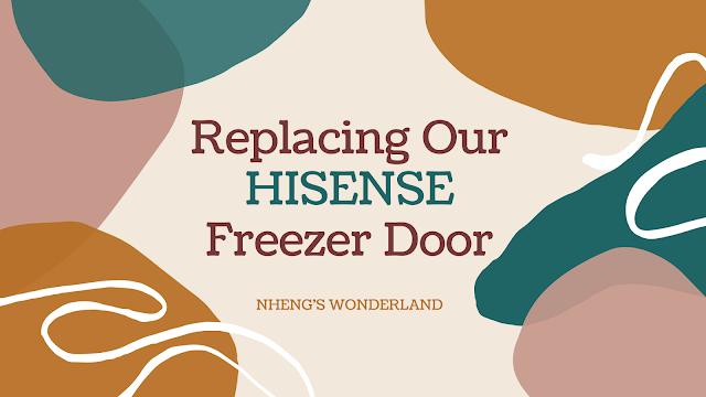 Replacing Our HISENSE Freezer Door
