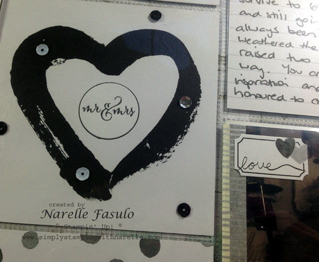Love Story - Project Life by Stampin' Up! - Simply Stamping with Narelle - available here - http://www3.stampinup.com/ECWeb/default.aspx?dbwsdemoid=4008228