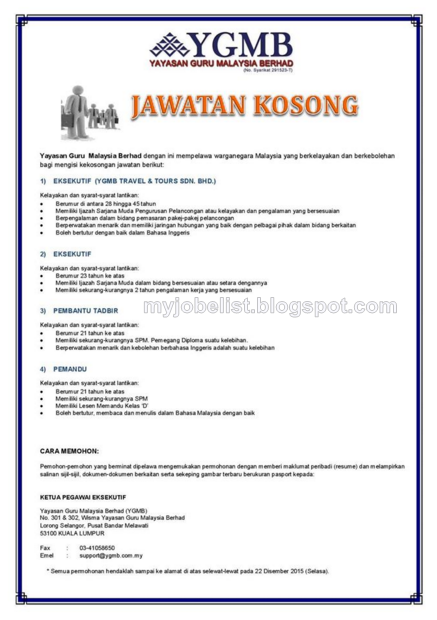 Kerja Kosong Pemandu Peribadi Datin Johor J Kosong U