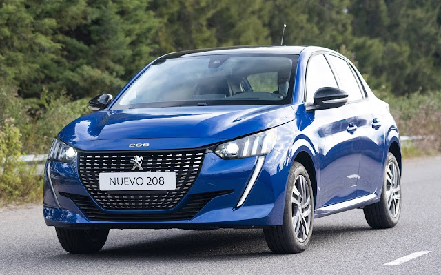 Novo Peugeot 208 2021