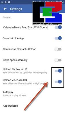 Bagi teman yang kini sedang menikmati aplikasi sosial media menyerupai  Cara Upload Foto / VIdeo Kualitas HD ke Facebook di Hp Android