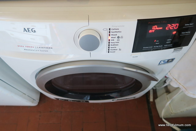 AEG 8000 Series T8DBG842R Heat Pump Tumble Dryer
