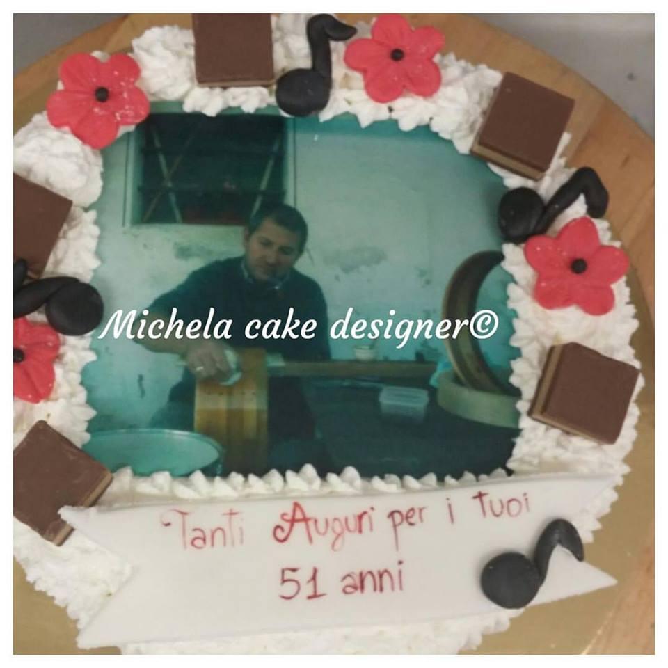 Michela Cake Designer Una Torta Speciale Per 51 Anni