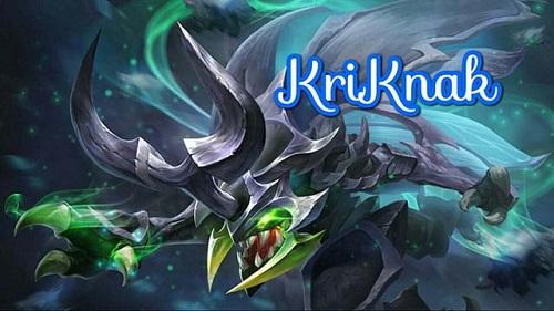 """""""Bọ sát thủ"""" Kriknak rất được yêu thích ở mùa 8 Liên quân Mobile"""