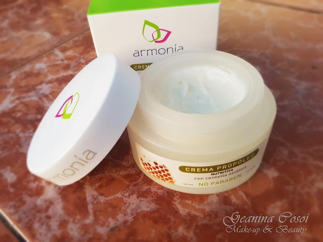 Crema facial nutritiva con Propóleo de Armonía