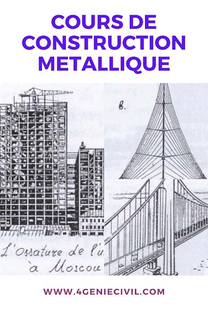 Cours de construction en charpente métallique pdf