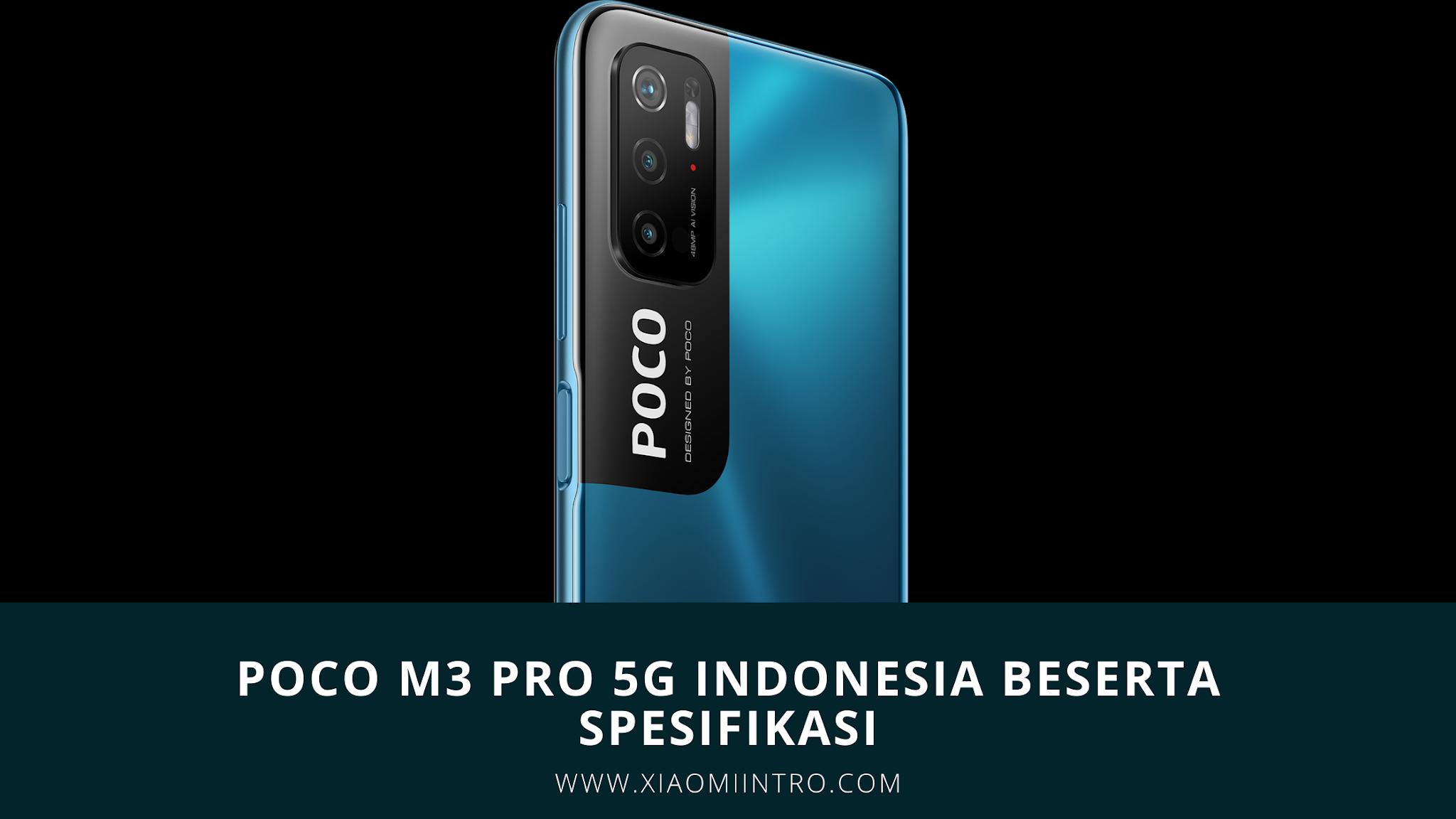 Poco M3 Pro 5G Indonesia Beserta Spesifikasi