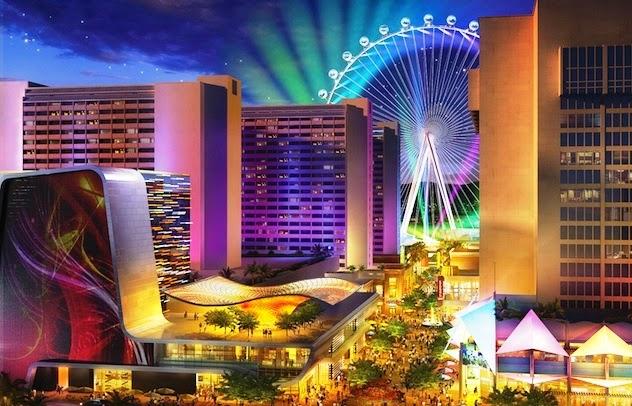 Linq roda gigante Las Vegas