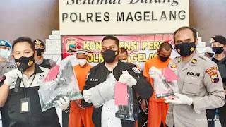 3 Pelaku Pencurian Dengan Modus Pecahkan Kaca diringkus Tim Resmob Polres Magelang