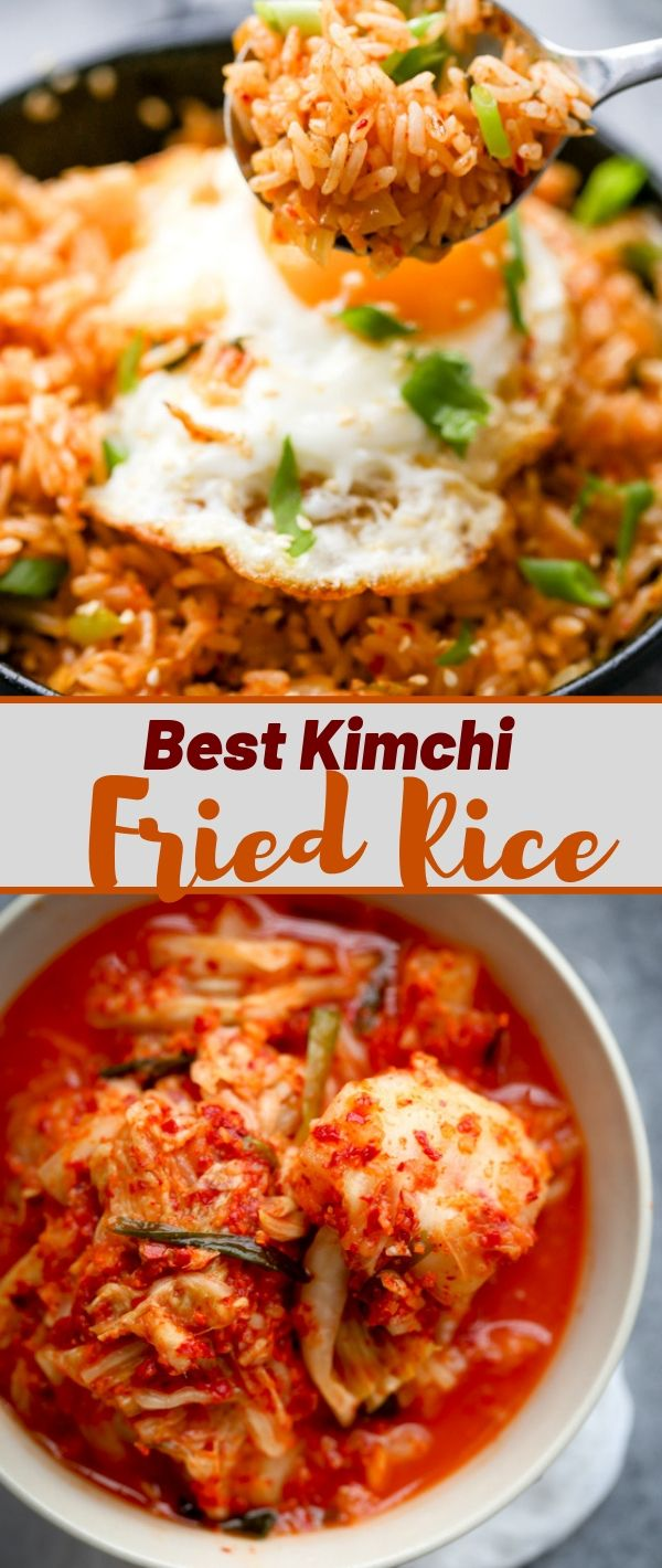 Easy Kimchi Fried Rice #Easy #Kimchi #Fried #Rice Healthy Recipes Easy, Healthy Recipes Dinner, Healthy Recipes Best, Healthy Recipes On A Budget, Healthy Recipes Clean, Healthy Recipes Breakfast,
