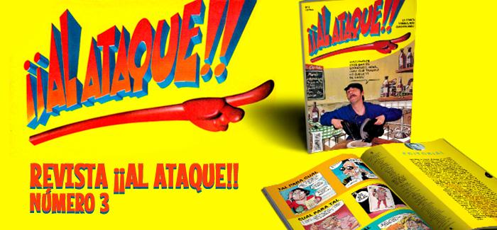 Revista ¡¡Al Ataque!! Nº 3
