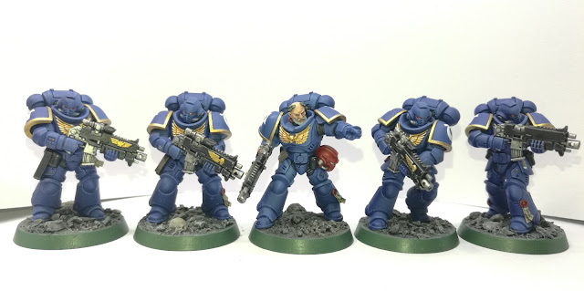 What's On Your Table: Ultramarine Intercessor Squad - Faeit 212